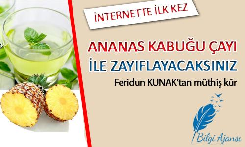 Ananas Kabuğu Çayı ile Zayıflama Kürü