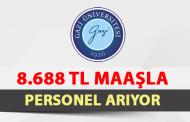 Üniversite 8 Bin 688 TL Maaş ile Personel Arıyor