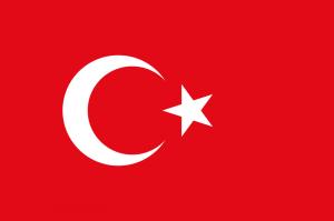 Şuan ki Türk Bayrağı